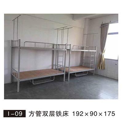 铁架床厂:上下铺铁床安装步骤