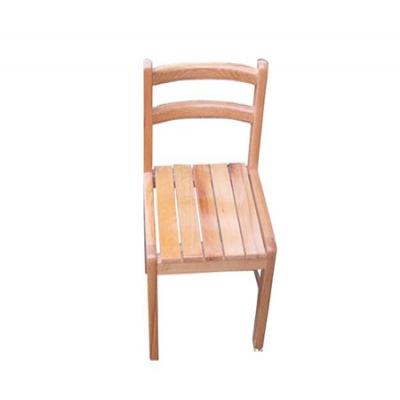 榉木靠背椅.2