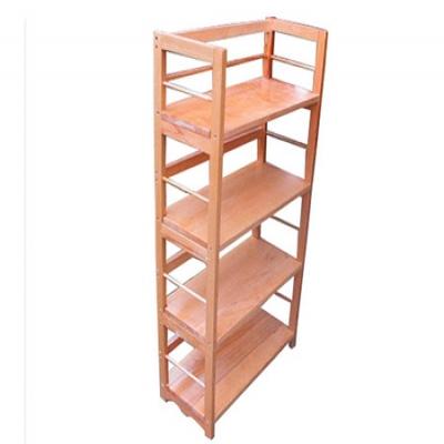榉木四层拆装书架