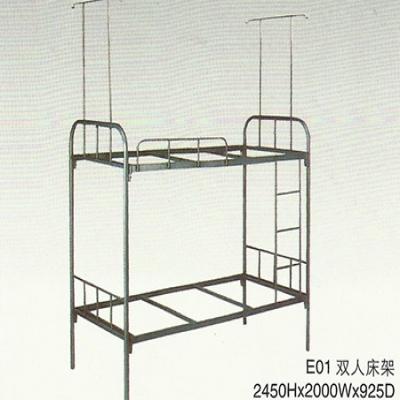 E01双人架床