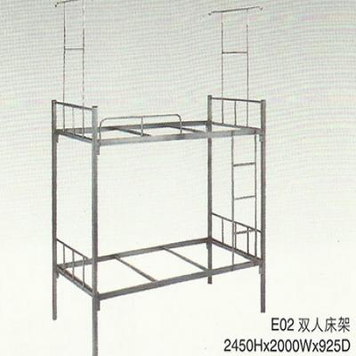 E02双人架床