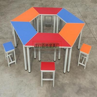 F28彩色梯形组合桌