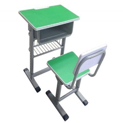 注塑边升降课桌椅